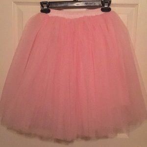 Dresses & Skirts - Pink Girls Tulle Tutu 7 layers Skirt Size XS/S